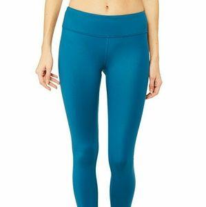 Alo airbrush legging - legion blue glossy